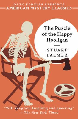 Cover image for The puzzle of the happy hooligan [large print] / Stuart Palmer ; introduction by Otto Penzler.