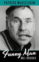 Cover image for Funny man [large print] : Mel Brooks / by Patrick McGilligan.