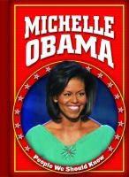 Cover image for Michelle Obama / by Amanda Hudson.