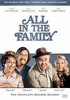 Cover image for All in the family. The complete second season [DVD] / developed and produced by Norman Lear ; directed by John Rich ; CBS.