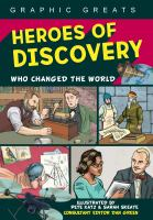 Cover image for Heroes of discovery : who changed the world / illustrated by Pete Katz & Sarah Skeate ; consultant editor Dan Green.
