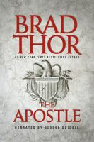 Cover image for The apostle [compact disc] / Brad Thor.