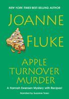 Cover image for Apple turnover murder [compact disc] / Joanne Fluke.