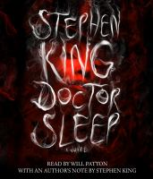 Cover image for Doctor sleep [compact disc] : [a novel] / Stephen King.