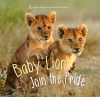 Cover image for Baby lion joins the pride.