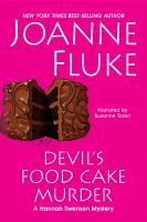 Cover image for Devil's food cake murder [compact disc] / by Joanne Fluke.