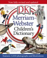 Cover image for DK Merriam-Webster children's dictionary.