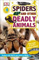 Cover image for Spiders and other deadly animals / by James Buckley, Jr.