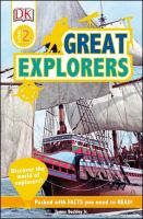 Cover image for Great explorers  / by James Buckley, Jr.