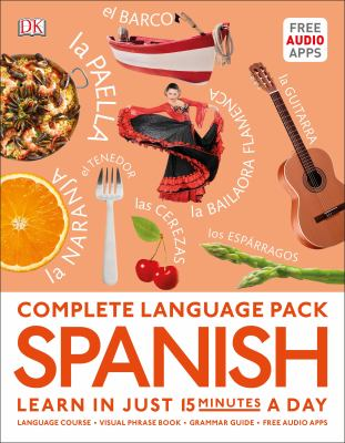 Cover image for Complete language pack. Spanish.