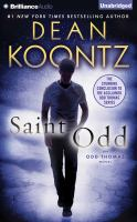 Cover image for Saint Odd [compact disc] / Dean Koontz.