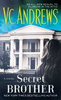 Cover image for Secret brother  / V.C. Andrews.