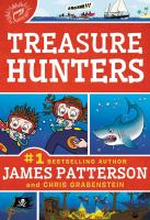 Cover image for Treasure hunters [compact disc] / James Patterson, Chris Grabenstein.