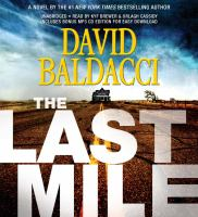 Cover image for The last mile [compact disc] / David Baldacci.