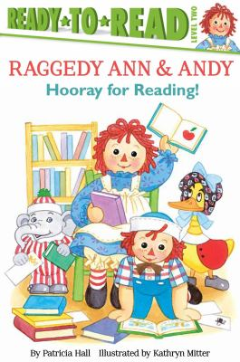 Cover image for Hooray for reading! / by Patricia Hall ; illustrated by Kathryn Mitter.