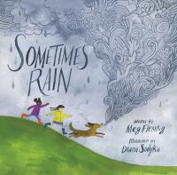 Cover image for Sometimes rain / Meg Fleming ; illustrated by Diana Sudyka.