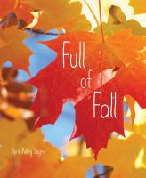 Cover image for Full of fall / April Pulley Sayre.