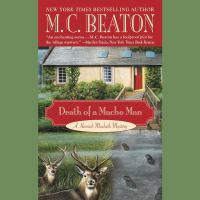 Cover image for Death of a macho man [compact disc] / M.C. Beaton.