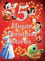 Cover image for 5-minute Christmas stories.