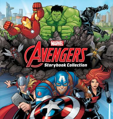 Cover image for Avengers storybook collection.