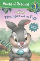 Cover image for Thumper and the egg / adapted by Brooke Vitale ; illustrated by Lori Tyminski and Valeria Turati.