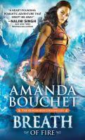 Cover image for Breath of fire / Amanda Bouchet.