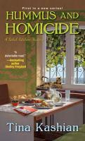 Cover image for Hummus and homicide / Tina Kashian.