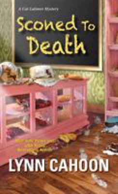 Cover image for Sconed to Death A Cat Latimer Mystery.