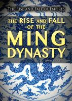Cover image for The rise and fall of the Ming Dynasty / Daniel R. Faust.