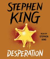 Cover image for Desperation [compact disc] / Stephen King.
