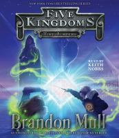 Cover image for Time jumpers [compact disc] / Brandon Mull, author of the Fablehaven and Beyonders series.