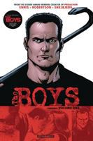 Cover image for The Boys omnibus. Volume one / written by: Garth Ennis ; illustrated by: Darick Robertson & Peter Snejbjerg ; additional inks by: Rodney Ramos ; colored by: Tony Aviña ; lettered by: Greg Thompson & Simon Bowland.