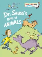 Cover image for Dr. Seuss's book of animals.