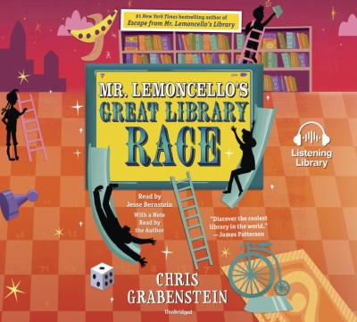 Cover image for Mr. Lemoncello's great library race [compact disc] / Chris Grabenstein.