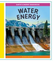 Cover image for Water energy / Elsie Olson.