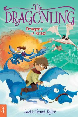Cover image for Dragons of krad / Jackie French Koller.