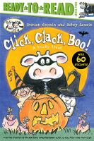 Cover image for Click, clack, boo! : a tricky treat / Doreen Cronin and Betsy Lewin.