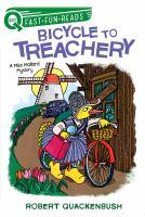 Cover image for Bicycle to treachery / Robert Quackenbush.