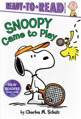 Cover image for Snoopy came to play / by Charles M. Schulz ; adapted by Tina Gallo ; illustrated by Vicki Scott.