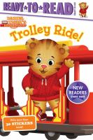 Cover image for Trolley ride! / by Cala Spinner ; poses and layouts by Jason Fruchter.