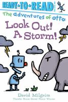 Cover image for Look out! a storm! / David Milgrim.