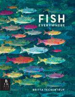 Cover image for Fish everywhere / Britta Teckentrup.