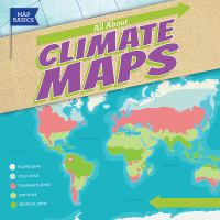 Cover image for All about climate maps / Barbara M. Linde.