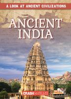 Cover image for Ancient India / by Daniel R. Faust.