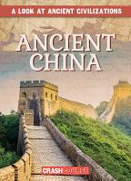 Cover image for Ancient China / by Daniel R. Faust.