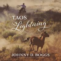 Cover image for Taos Lightning [compact disc] / Johnny D. Boggs.