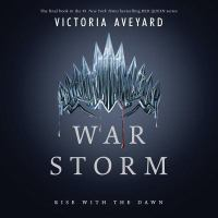 Cover image for War storm [compact disc] / Victoria Aveyard.
