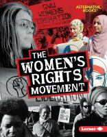 Cover image for The women's rights movement / Eric Braun.