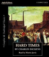 Cover image for Hard times [compact disc] / by Charles Dickens.