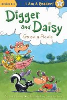 Cover image for Digger and Daisy go on a picnic / by Judy Young ; illustrated by Dana Sullivan.